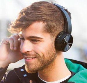 Sony Wireless On-Ear Stereo Headphones MDRZX330BT/B