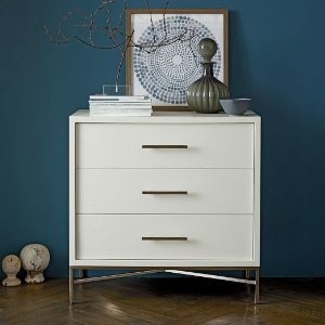 City Storage 3-Drawer Dresser - White | west elm