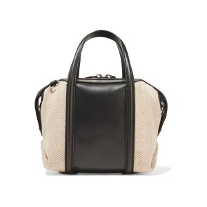 Emile mini leather and canvas shoulder bag | Alexander Wang