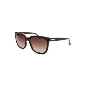 Calvin Klein CK4253S-5519320 Sunglasses,Women's Square Black and Havana Sunglasses, Sunglasses Calvin Klein Sunglasses Sunglasses