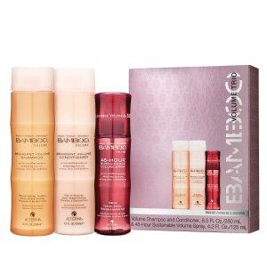 Alterna BAMBOO Volume Trio - Shampoo, Conditioner & Volume Spray | SkinCareRx