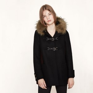 GANXIA Wool A-line coat - Coats & Jackets - Maje.com