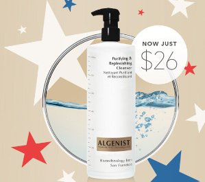 $26(reg.$59) Purifying & Replenishing Cleanser