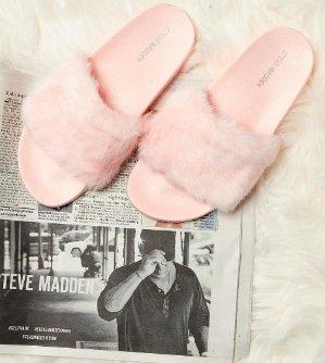 $34.3(org.$49) Steve Madden Women's Softey Slippers @ macys.com