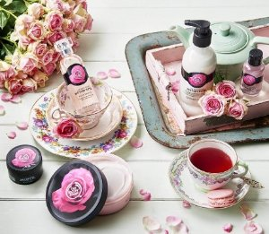 40% Off British Rose Collection @ The Body Shop