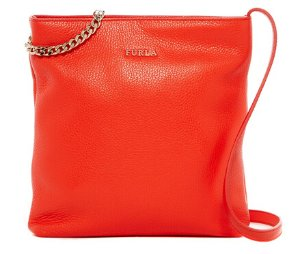 Furla Julia Chain Small Leather Crossbody @ Nordstrom Rack