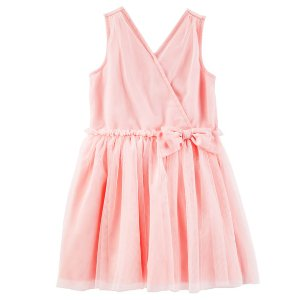 Toddler Girl Ruffle Tulle Dress | OshKosh.com