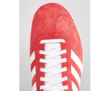 adidas Originals Gazelle Sneakers In Red