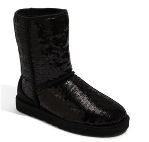 UGG Australia Classic Short with Sparkles' Boot
