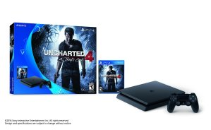 New Released $299.99 PlayStation 4 Slim 500GB Console - Uncharted 4 Bundle