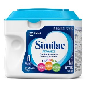 Similac Advance Infant Formula with Iron, Powder, 23.2 Ounces (Pack of 6) | Jet.com