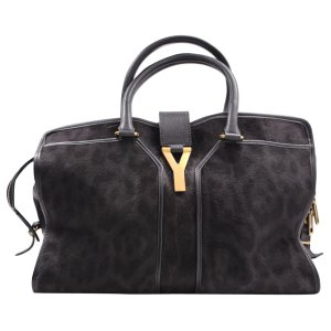 black Leopard Pony-style calfskin YVES SAINT LAURENT Handbag - Vestiaire Collective