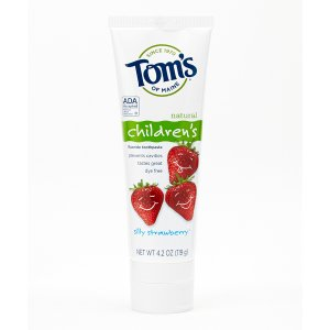 Toms of Maine Silly Strawberry Anticavity Fluoride Childrens Toothpaste | zulily