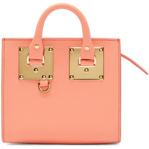 Sophie Hulme: SSENSE Exclusive Pink Albion Box Tote