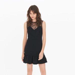 Fluncy Dress - Little Black Dress - Sandro-paris.com