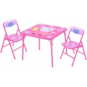 Peppa Pig Table and Chairs Set - Walmart.com