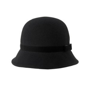 Toddler Girls Black Classic Cloche by Gymboree