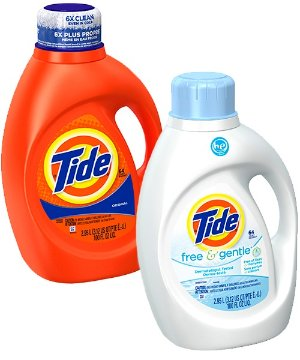 $15 off $50 Tide Liquid Laundry Detergent