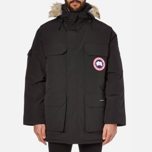 Canada Goose Men's Expedition Parka - Black - Free UK Delivery over £50