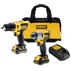 DeWALT DCK211S2 12V MAX* Lithium Ion Drill / Impact Combo Tool Kit 885911204064 | eBay