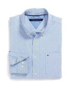 Tommy Hilfiger Men's Long Sleeve Oxford Shirt