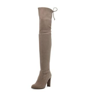 Last Day! Up to $1000 Gift Card Stuart Weitzman Over-the-Knee Botts @ Bergdorf Goodman