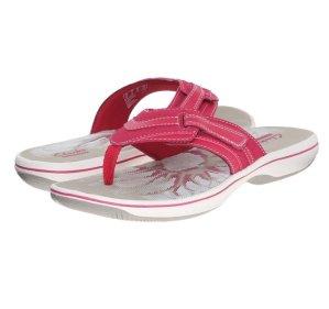 Up to 49% Off Clarks Women's Brinkley Keeley Flip-Flop