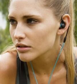 MEE audio M7P Secure-Fit Sports In-Ear Headphones with Mic Remote and Universal Volume Control
