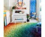 Stella Rainbow Shag Rug (7'7 x 10'5) - 13910654 - Overstock.com Shopping - Great Deals on Alexander Home 7x9 - 10x14 Rugs