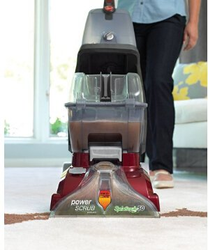 Hoover FH50150 Carpet Basics Power Scrub Deluxe Carpet Cleaner