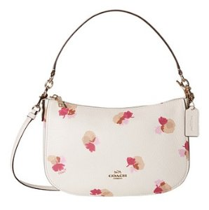 COACH Floral Printed Chelsea Crossbody