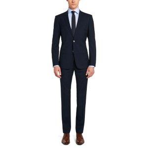 'Hutson/Gander'   Slim Fit, Super 100 Italian Virgin Wool Suit