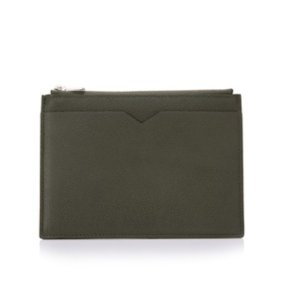Valextra Leather Pouch