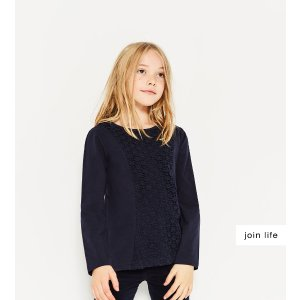 GUIPURE LACE TOP - SPECIAL PRICES-GIRL | 4-14 years-KIDS | ZARA United States