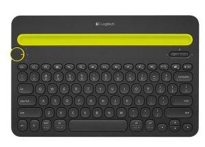Logitech - K480 Bluetooth Multidevice Keyboard