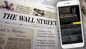 $1Wall Street Journal $1 for 2 months Print or Digital