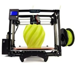 $1760LulzBot TAZ 5 Desktop 3D Printer with 0.5 mm Nozzle