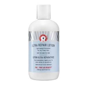 First Aid Beauty Ultra Repair Lotion: refreshingly lightweight moisturizer for silky smooth skin