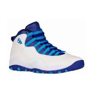 Jordan Retro 10 - Men's - Basketball - Shoes - White/Concord/Blue Lagoon/Black