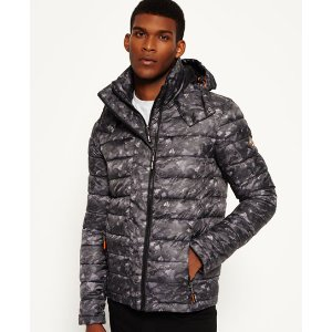 Superdry Hooded Fuji Double Zip Jacket