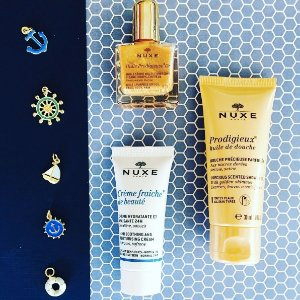 Free Candle + Travel Kit ($20 Value) with Any $70 Order @ Nuxe
