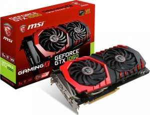 $183 MSI Video Card GTX 1060 GAMING 3GB