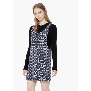 Geometric pattern dress - Woman