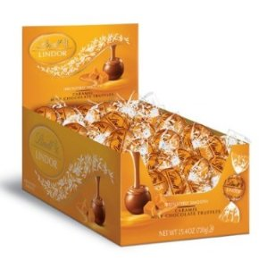 $11.83 Lindt LINDOR Caramel Milk Chocolate Truffles, 60 Count Box @ Amazon