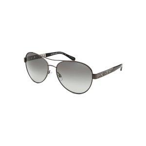 Michael Kors MK5003-CL-100211 Sunglasses,Cagliari Aviator Gunmetal Sunglasses, Sunglasses Michael Kors Sunglasses Sunglasses