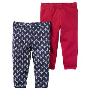 Baby Girl 2-Pack Leggings | Carters.com