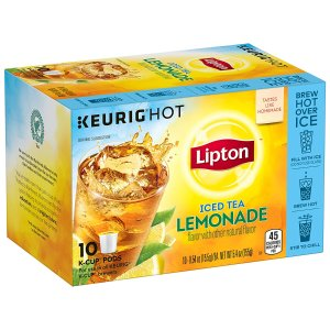 $0.75 Lipton Iced Tea K-Cups, Iced Tea Lemonade 10 ct