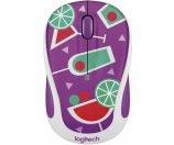 Logitech Optical Mouse Purple 910-004680