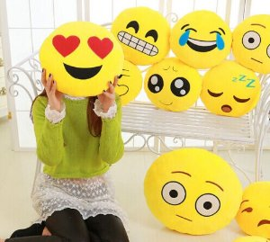As low as $5.99 Emoji Pillow 13 Inch