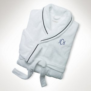 Langdon Embroidered Bathrobe - Bath Robes � Bath - RalphLauren.com